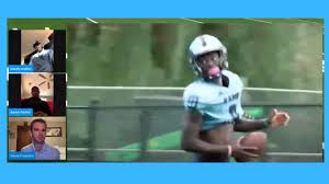 LIVE NFL Draft Chat with Rhode Island WR's Aaron Parker & Isaiah Coulter -  YouTube