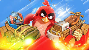 Angry Birds Go Coloring Pages - Angry Birds Go Coloring Book - Col ...