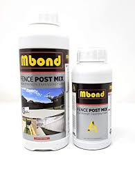 Mbond Post Fix Foam 1 Post Setting Kit Fast And Strong Concrete Alternative Amazon Co Uk Business Industry Science