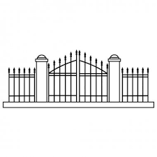Cemetery Gate Premium Vector Download For Commercial Use Format Eps Cdr Ai Svg Vector Illustration Graphic Art Design