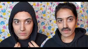 rami malek makeup transformation mr