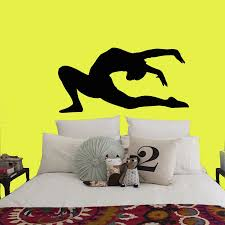 Wall Decals Girl Gymnast With A Ball Sport Gymnastics People Home Vinyl Decal Sticker Kids Nursery Baby Room Decor Mural A146 Decoration Murale Baby Room Decorroom Decoration Aliexpress