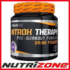 nitrox therapy pre workout creatine