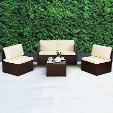 weave garden furniture patio