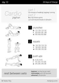 no equipment 30 day workout program