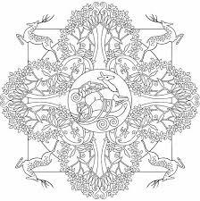Nature Mandalas Coloring Pages Google Search Mandala