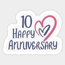 10th anniversary gifts anniversary