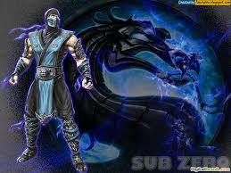 47 sub zero mortal kombat wallpaper 1