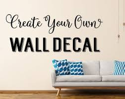 custom wall decals in decors