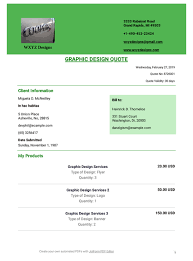 graphic design quote template pdf templates jotform
