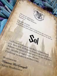 80 Invitacion Cumpleanos Hogwarts Harry Potter 1 880 00 En