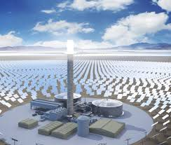 concentrated solar power plants