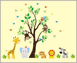Nature Animal Wall Decals Nursery Wall Art Baby Room Wall Decals Nurserydecals4you