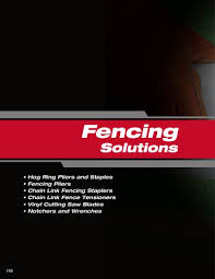 Fencing Solutions Malco Products Inc Pdf Catalogs Technical Documentation Brochure