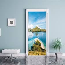 New Arrival Creative Beautiful View Mountains Diy Door Decal Wall Stickers Wallpaper Living Room Home Decoration Mural Arts Poster Oversized Wall Decals Owl Wall Decals From Fst1688 27 11 Dhgate Com