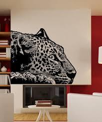 Vinyl Wall Decal Sticker Laying Leopard 5480 Stickerbrand