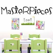 Masterpieces Wall Decal Kids Nursery Playroom Classroom Wall Sticker Art Ebay