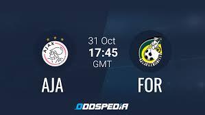 Ajax - Fortuna Sittard Odds, Stats & Live Score + Stream