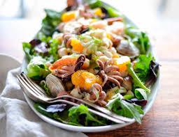 Italian Seafood Salad with Mandarin ...