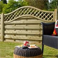 Triple Arch Finial Fence Section Black Homebase