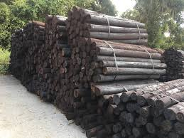 4 5 X 8 Creosote Fence Posts Sparr Building Farm Supply Sparr Building And Farm Supply