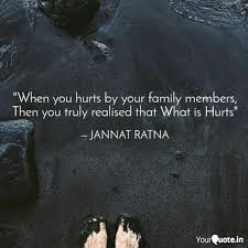 when you hurts by your f quotes writings by jannat ratna