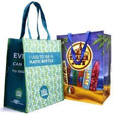 custom recycled ping bags