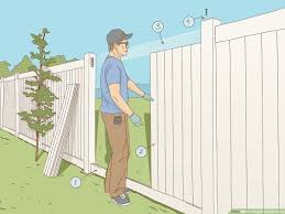 3 Ways To Repair A Vinyl Fence Wikihow