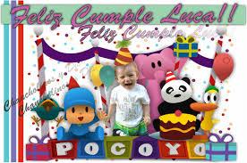 Banners Pocoyo Cartel Cumpleanos Ninos Pocoyo 600 00 En