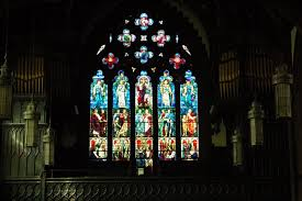 stained glass windows the church of