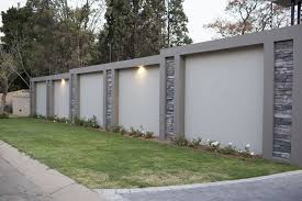 Home The Creative Stone Fence Wall Design Exterior Wall Design House Fence Design