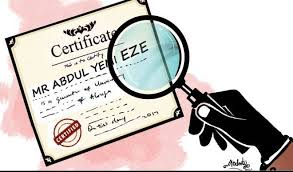 Daily Trust - Legal implications of certificate forgery, perjury in Nigeri