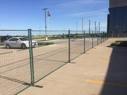 Temporary Steel Fencing Rental In Iowa Event Security