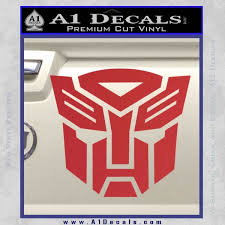 Transformers Autobots Decal Sticker A1 Decals
