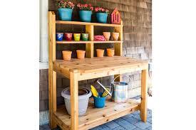 built to last potting bench