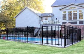 Aluminum Fence Contractor Mt Hope Fence In Ohio