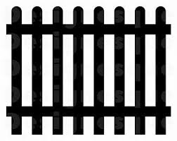 Fence Clipart Etsy