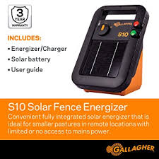 Gallagher S10 Solar Fence Energizer Buy Products Online With Ubuy Thailand In Affordable Prices B01598qzaq
