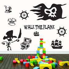 Pirate Pack Wall Decals Home Decor Wall Decals