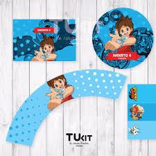 Kit Imprimible Yo Kai Watch Candy Bar 180 00 En Mercado Libre