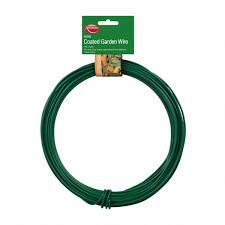 garden wire green pvc coated 3 5mm x