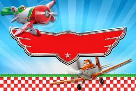 Aviones De Disney Tarjetas O Invitaciones Para Imprimir Gratis