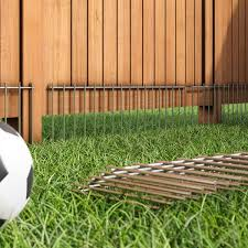 Ellery Dog Pet Barrier In 2020 Pet Friendly Backyard Pet Barrier Garden Fence Panels