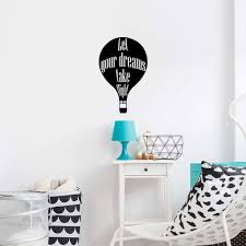 Amazon Com Take Flight Quote Hot Air Balloon Quotes Wall Sticker Art Decal For Girls Boys Kids Room Bedroom Nursery Kindergarten Garage House Fun Home Decor Stickers Wall Art Vinyl Decoration Size 30x27