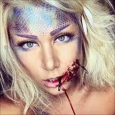 sfx mermaid halloween makeup tutorial
