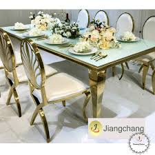 mirror glass top dining table