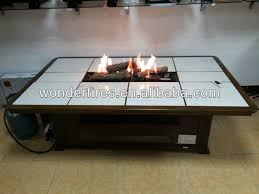outdoor gas firepit table fireplace