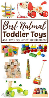 natural educational toddler toys that