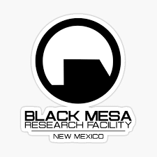Black Mesa Stickers Redbubble
