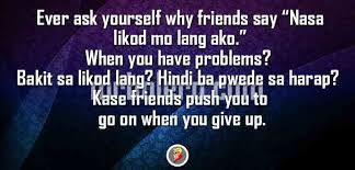 quotes about friendship problems tagalog twoj doktor